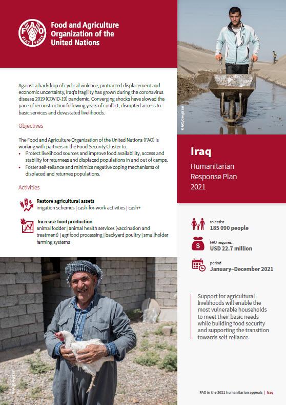 Iraq Humanitarian Response Plan 2021