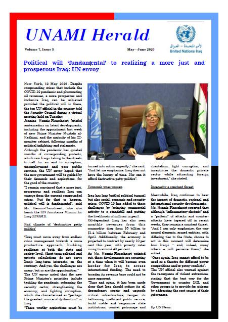 UNAMI Herald Volume 7, Issue 3
