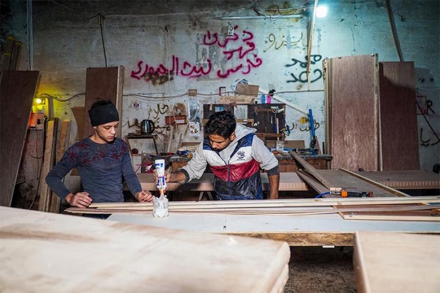 انخفاض شديد في معدّلات إنتاج ومبيعات المشاريع الصغيرة والمتوسطة في العراق بسبب وباء كورونا (كوفيد-19): تقرير للمنظمة الدولية للهجرة في العراق