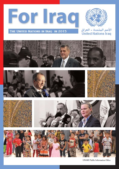 For Iraq Yearbook, The United Nations in Iraq in 2015