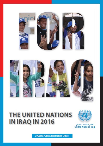 For Iraq Yearbook, The United Nations in Iraq in 2016