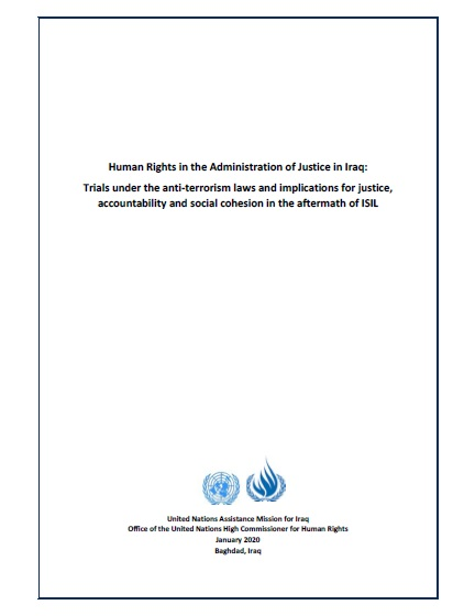 Iraq: UN report on ISIL trials recognizes efforts and raises concerns