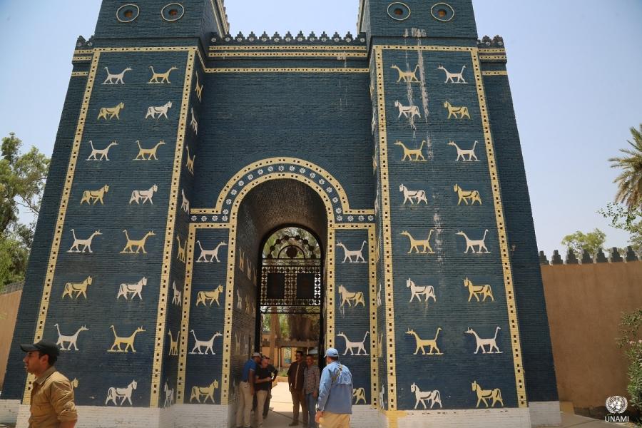 Magnificent ancient Mesopotamian city of Babylon designated as UNESCO World Heritage Site