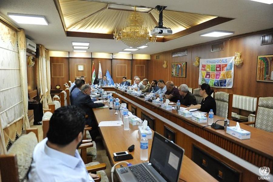 Sustainable Development Goals (SDG) Committee inaugurated in Kirkuk