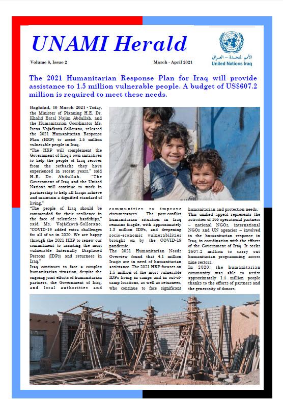 UNAMI Herald Volume 8, Issue 2