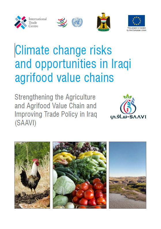 Climate change risks and opportunities in Iraqi agrifood value chains - ITC