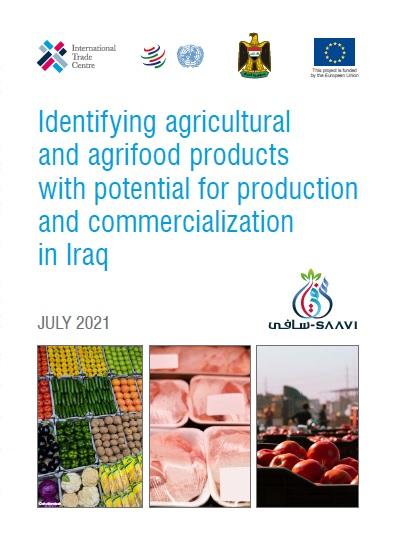 Identifying agricultural and agrifood products with potential for production and commercialization in Iraq