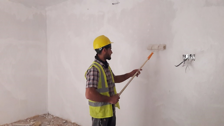 Returnees in Yathrib, Iraq, helping rebuild their conflict affected communities amidst COVID-19