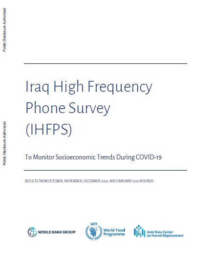 Iraq - High Frequency Phone Survey (IHFPS) | Second Report