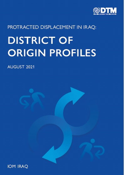 Protracted Displacement in Iraq: District of Origin Profiles, August 2021