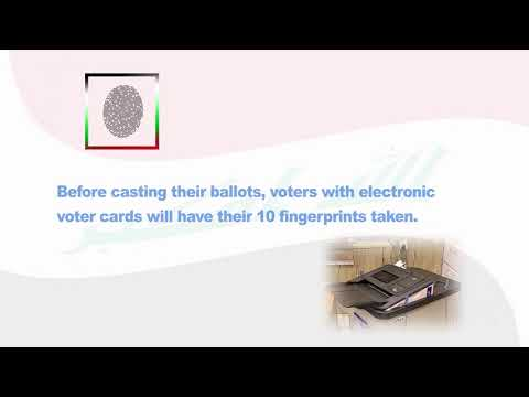 Iraq | Electronic Voter Cards