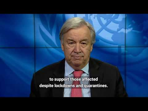 UN Secretary-General video message on the International Day for the Elimination of Sexual Violence in Conflict