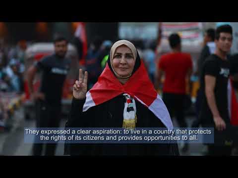 Iraq | Message from SRSG Jeanine Hennis-Plasschaert to Iraqi voters