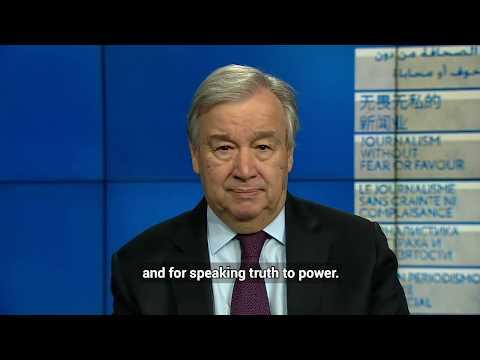 UN Secretary-General's message on World Press Freedom Day